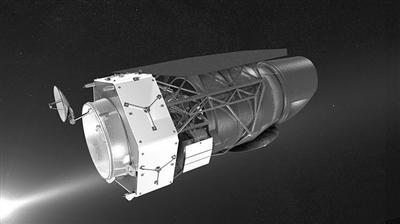 宽视场红外巡天望远镜效果图。图片来源:《科学》官网