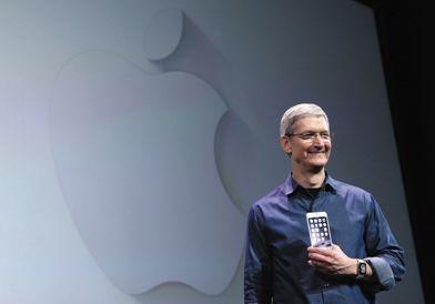 ▲苹果掌门库克。图片来源@视觉中国
