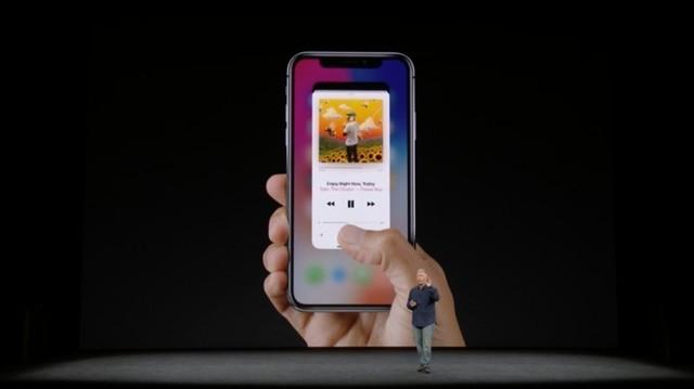 没有Home键的iPhone X