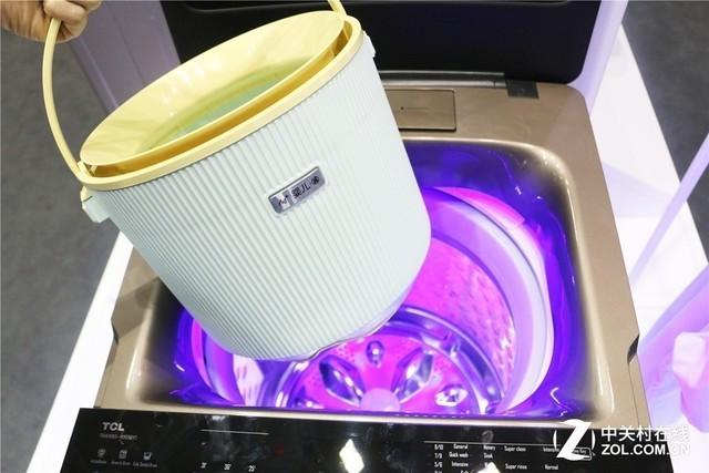 内置专属小桶 带来全新洗衣体验
