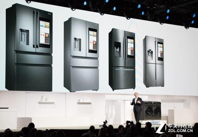 三星众多智能冰箱新产品